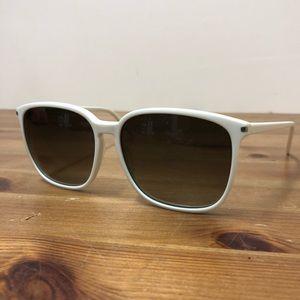 Saint Laurent Sl 37 white Sunglasses